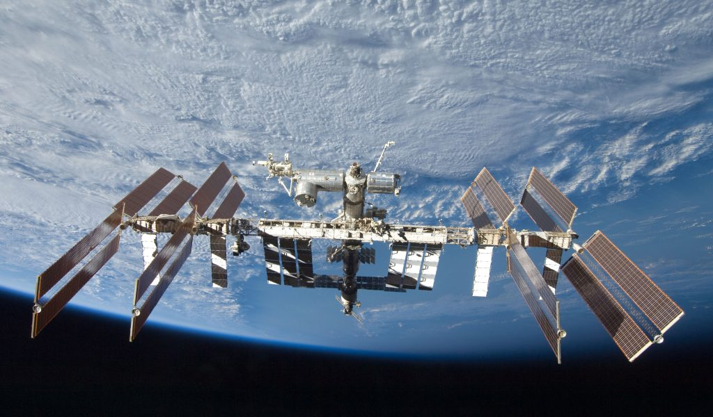 US-Russian Crew Docks at the ISS After 6-Hour Flight