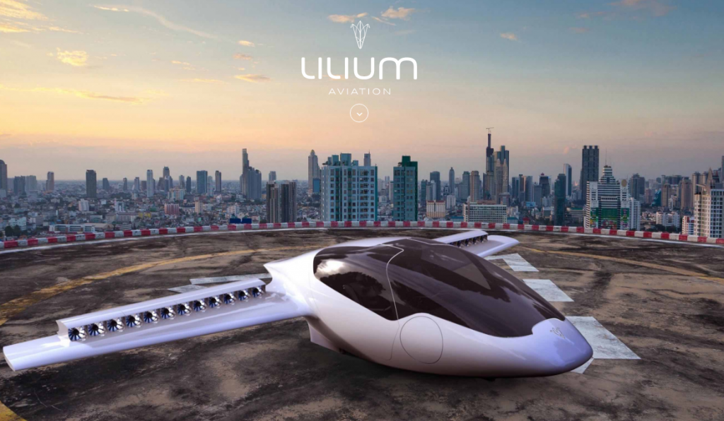 Lilium Receives Funding to Build Electric Flying Taxi