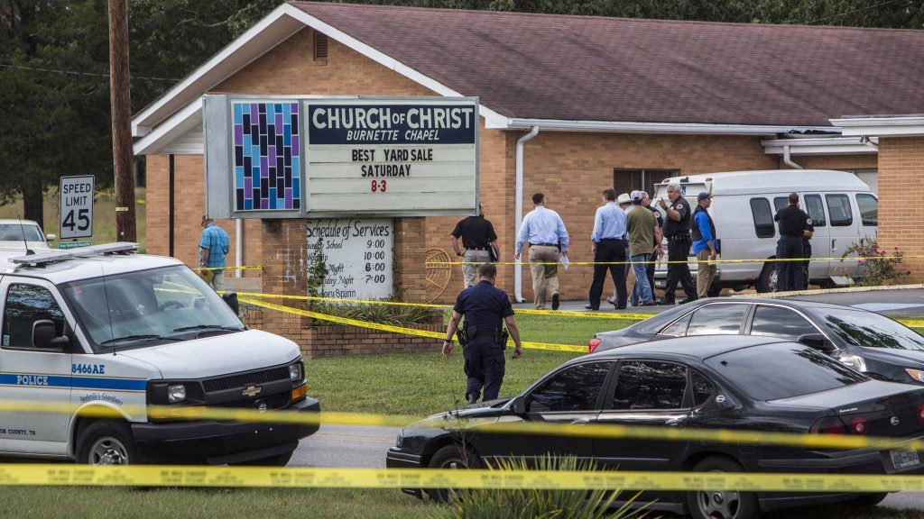 Church Shooting Suspect in Tennessee Charged With Murder