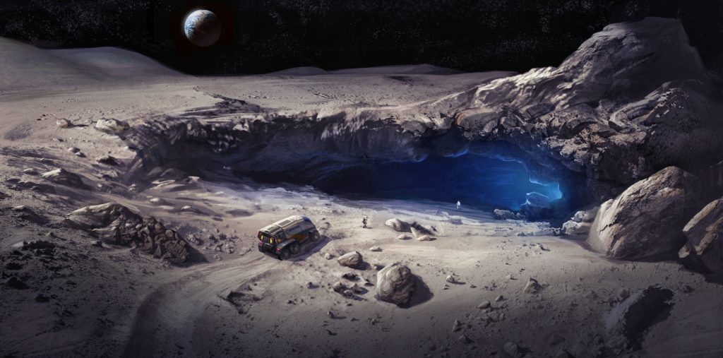 Cave Discovered on Moon Unlocks New Possibilities