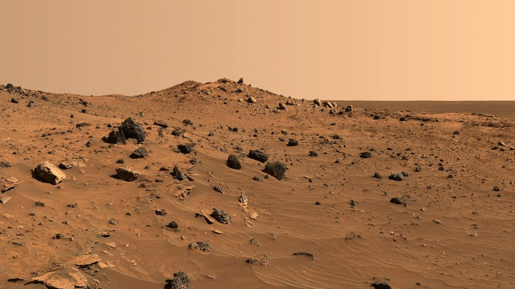 Earth's Deserts Show How Microbes Survive on Mars