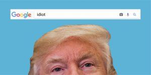 donald trump idiot googlebombing airherald