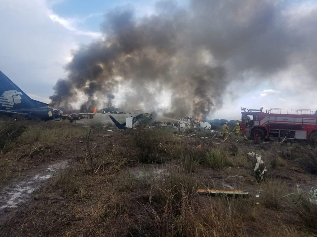 mexico-plane-crash-aeromexico-passengers-survive-airherald