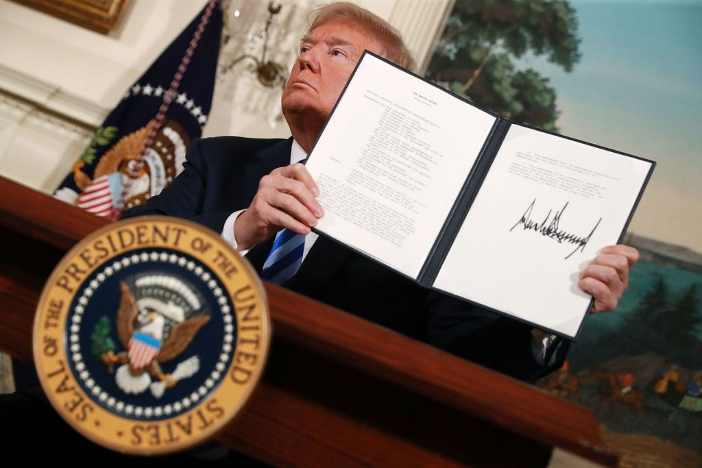 First Set of US Economic Sanctions against Iran Take Effect