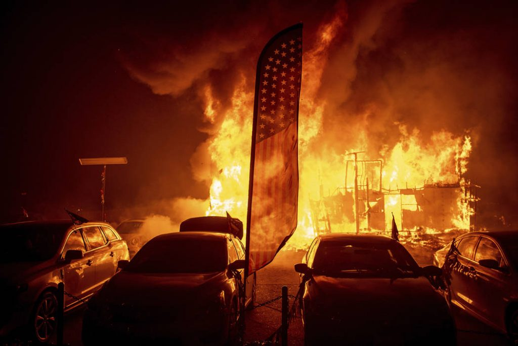 Fire Strikes California Again: Death Tolls is Heart Breaking