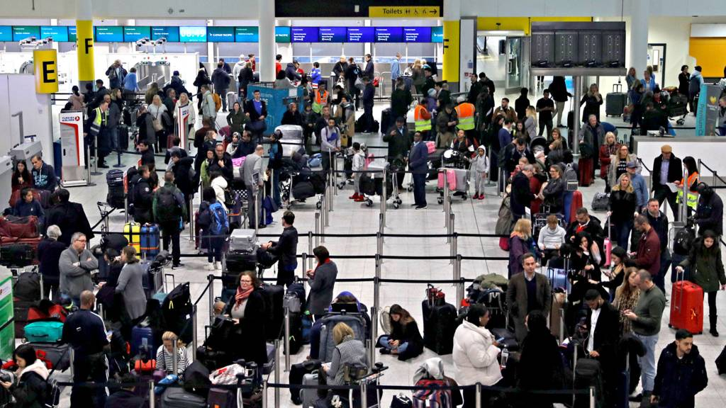 Major Delays at Gatwick Airport Were Caused by Drone Sightings