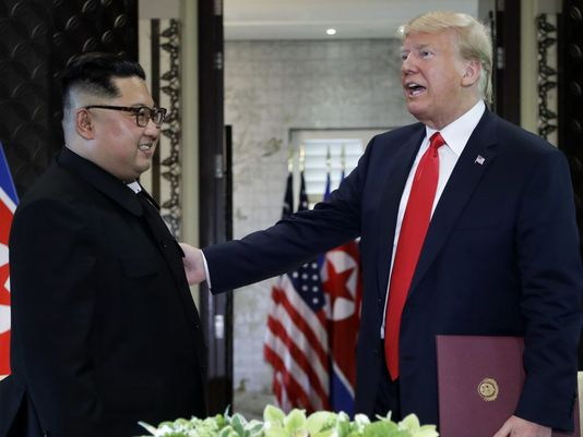 "Trump says he is in ""no rush"" to see North Korea denuclearize"