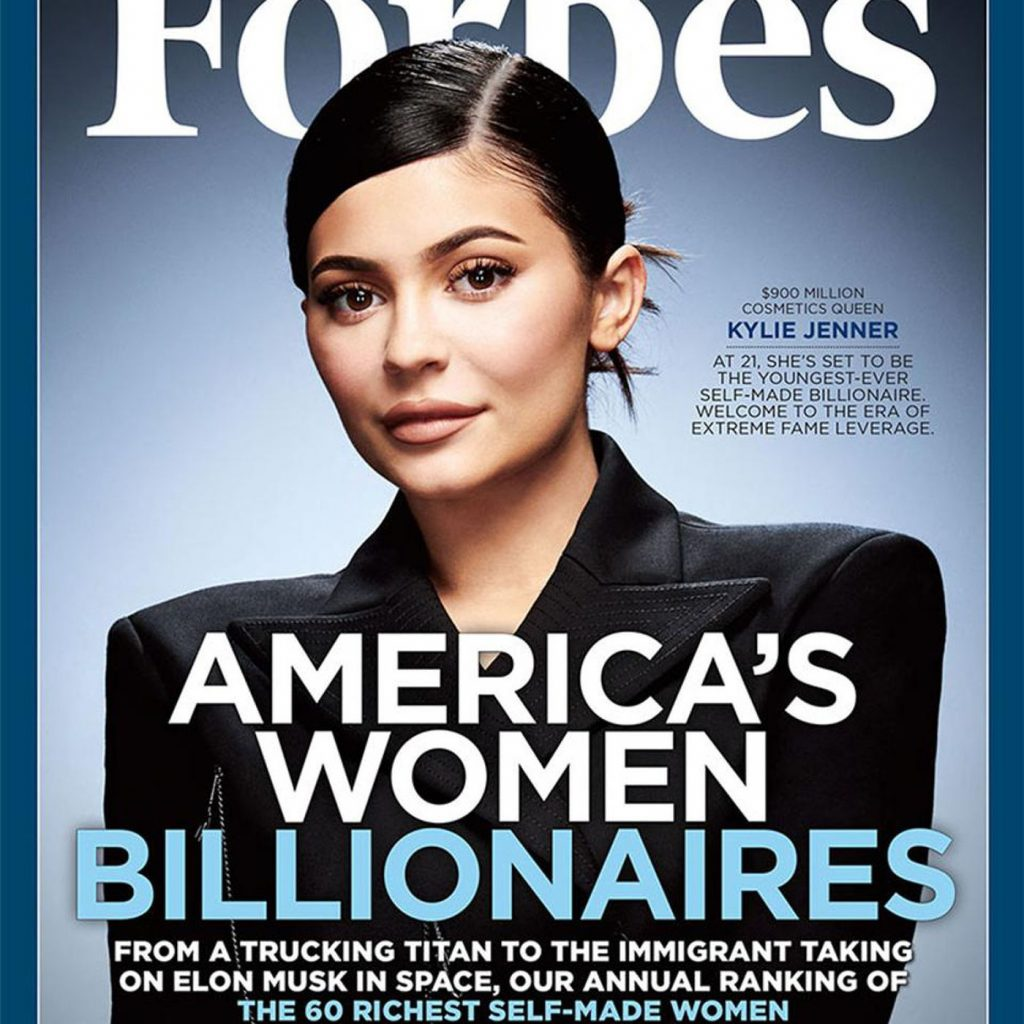 Kylie Jenner is now the world's youngest billionaire