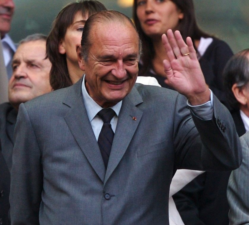 Former French president, Jacques Chirac, dies at 86